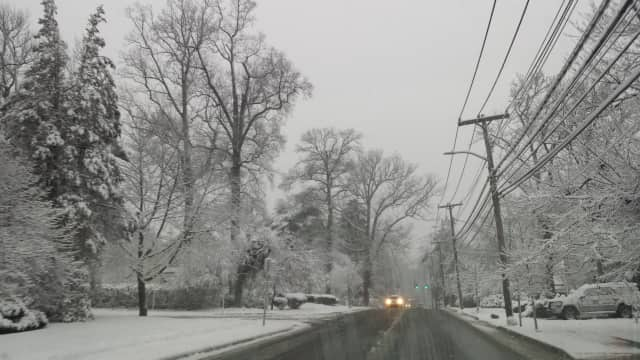 Snow could make for slippery driving conditions in Dutchess on Friday morning.