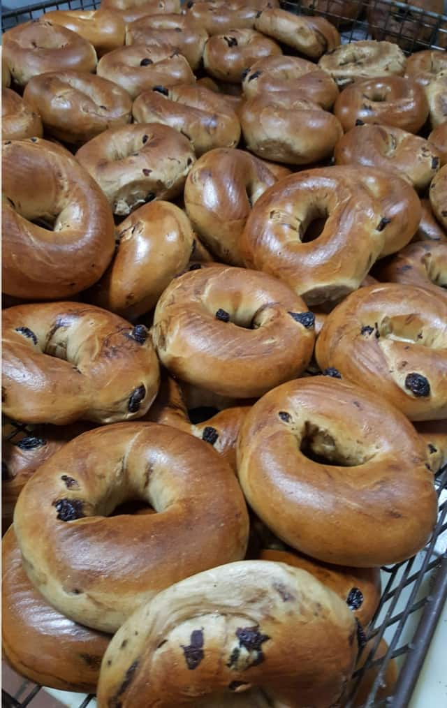 Rockland Bakery in Nanuet is known for its fresh out of the oven bagels.