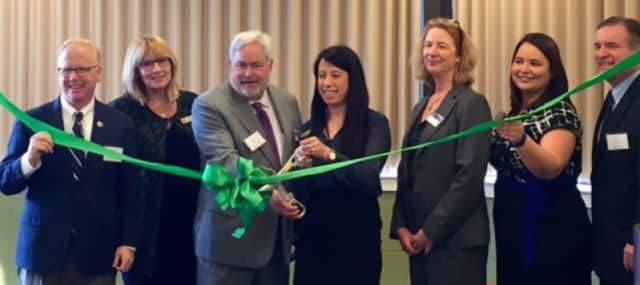 Women's Business Development Council of Connecticut opens its new office at Western Connecticut State University in Danbury.