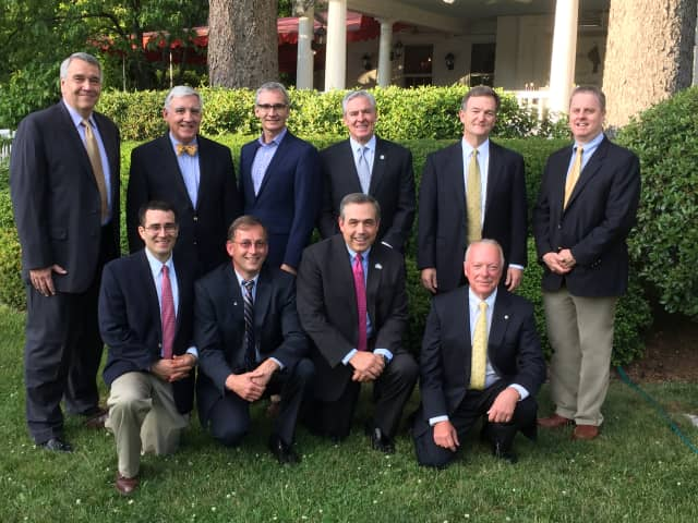 The New Canaan Exchange Club. See story for IDs.