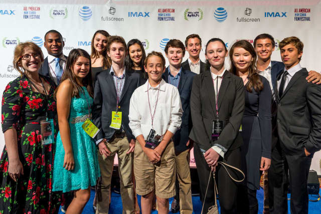 Student filmmakers from Rye Country Day School in Rye, N. Y. created an 8-minute film about the dangers of cyperbullying, and were invited to work on it earlier this month in New York City.