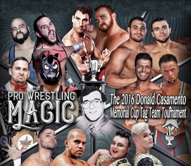 Cliffside Park is hosting the 2016 Donald Casamento Memorial Cup Tag Team Tournament.
