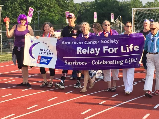Fairfield Relay for Life is looking for cancer survivor role models for the 2017 events. Participants are shown at last year's Relay For Life.