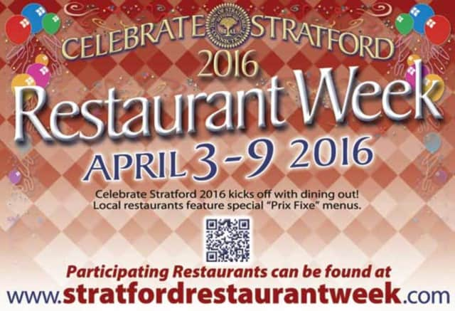 Stratford Restaurant Week returns April 3-9.