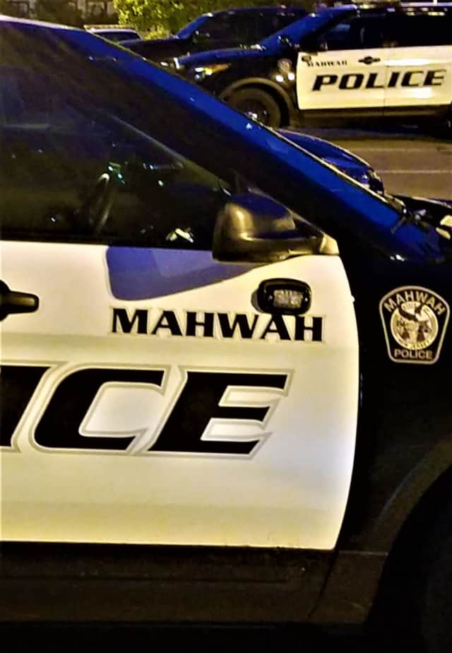 Two Mahwah police officers found the rider's body.