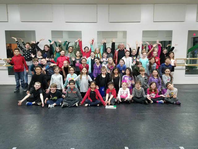 """The 2017 cast of Seven Stars School of Performing Arts May production of """"Peter Pan JR."""" The students come from Putnam and Westchester Counties, New York, and Fairfield County, Conn."""