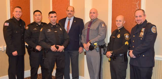 Seven of Dutchess County's Top Cops.
