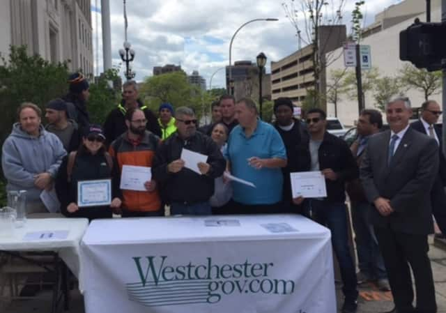 Yonkers was honored with the best water in Westchester Tuesday.