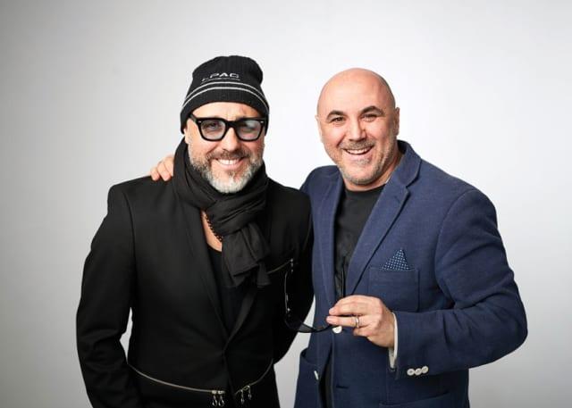 Piero and Luigi Pirri of Pirri Hair Studio. Courtesy Pirri Hair Studio.