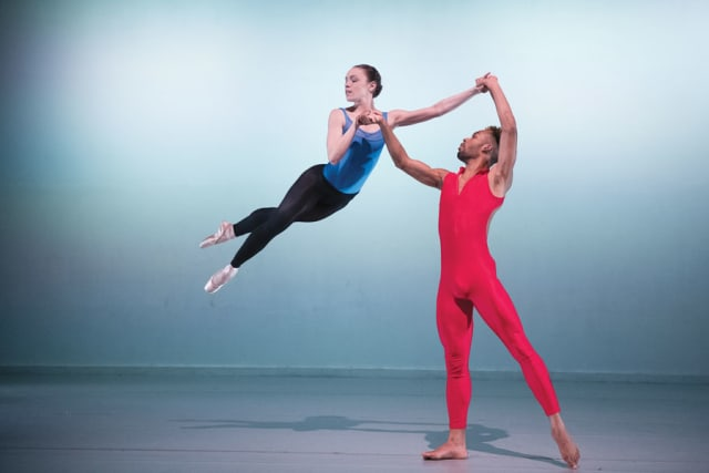 Members of the Purchase Dance Company. Photograph by Christopher Duggan.