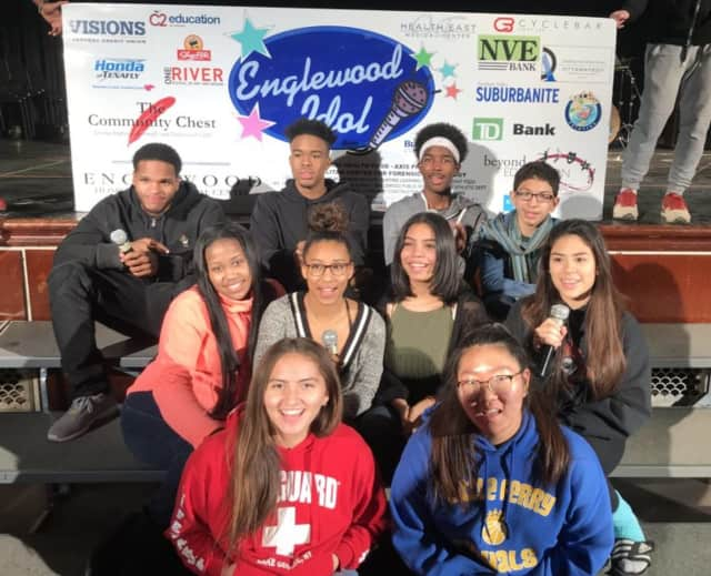 Contestants in the 2018 Annual Englewood Idol gather together.