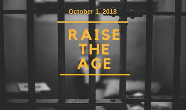 The Westchester County District Attorney announced that Oct. 1 was Raise the Age day.