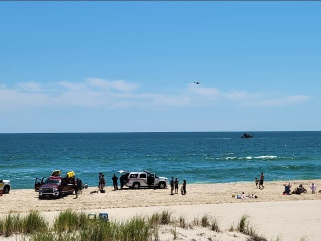 Ocean County Sheriff's Office conducts a water search (stock photo)