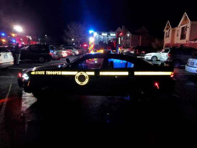 Several fires at a Dutchess County apartment complex were intentionally set, state police said.