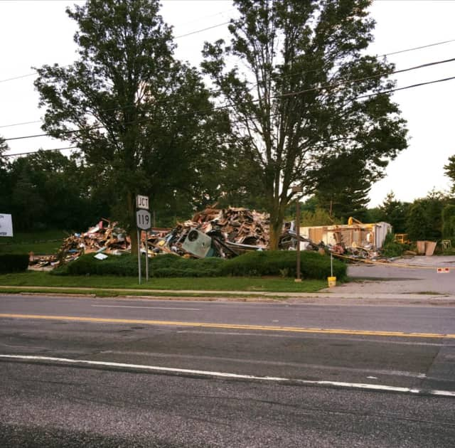 The El Dorado diner was demolished this week
