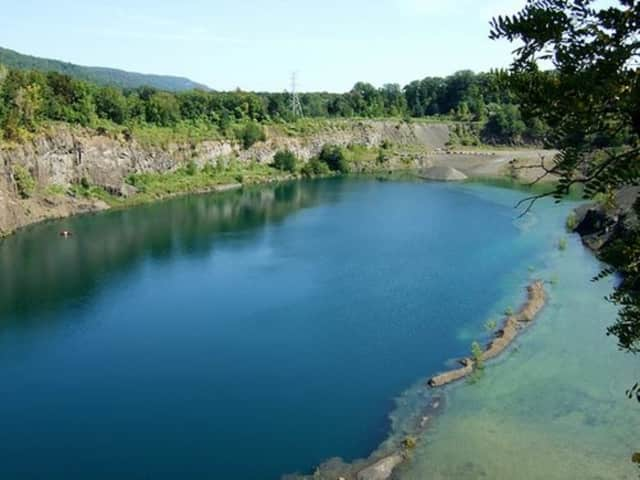 Ramapo police arrested 13 for trespassing at the quarry.