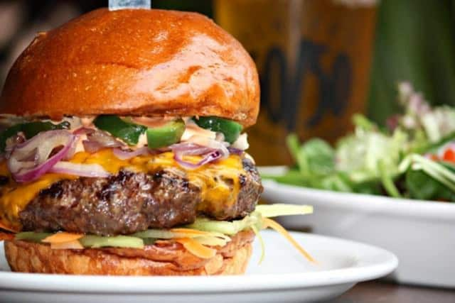 The burgers are tops at ReBAR & Kitchen in Lodi.