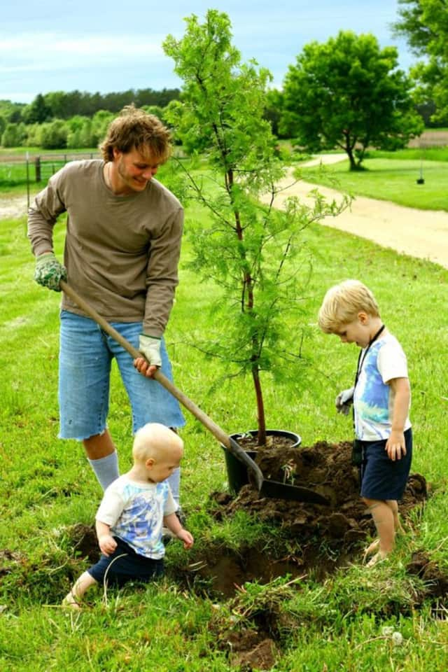 Arbor Day is April 25.