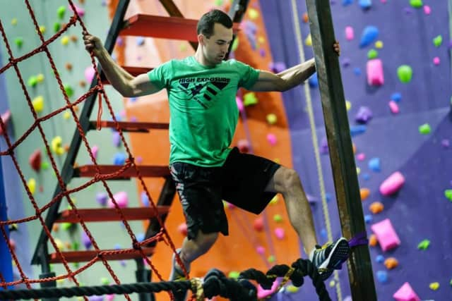 Climb for a Cause and help Puerto Rico -- at a fundraising event at High Exposure Climbing Gym in Northvale, N.J.