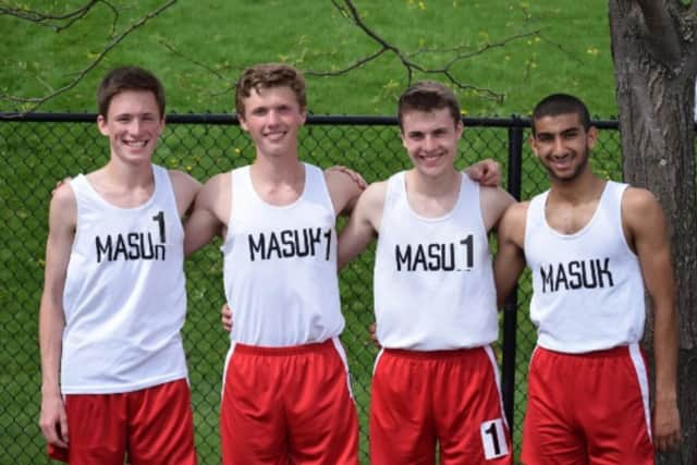 The Mausk boys track team is looking to help secure funding to send some of its members to the National Championship meet in North Carolina.