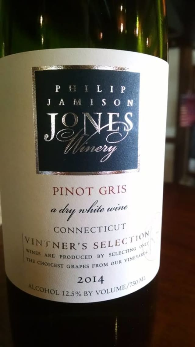 Pinot Gris from Jones Family Farms in Shelton.