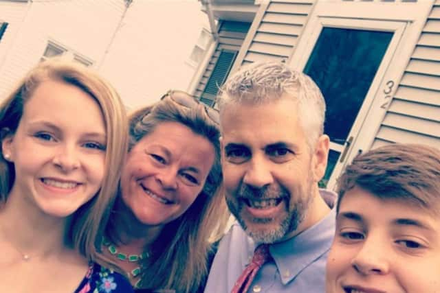 Friends are working together to help Chris Morin and his family as he fights cancer.