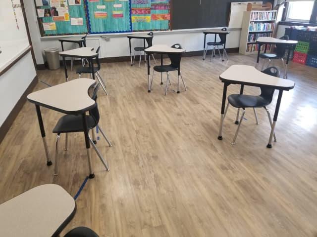 Rutherford Public Schools classroom