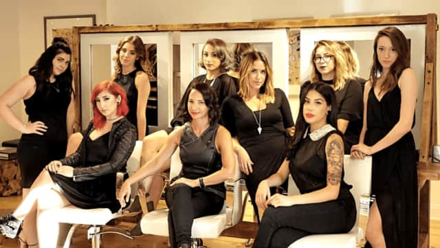 The staff of Whip Salon in Ridgefield.