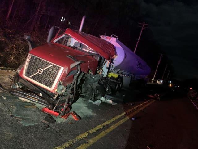 A New Windsor man was killed during a head-on crash.