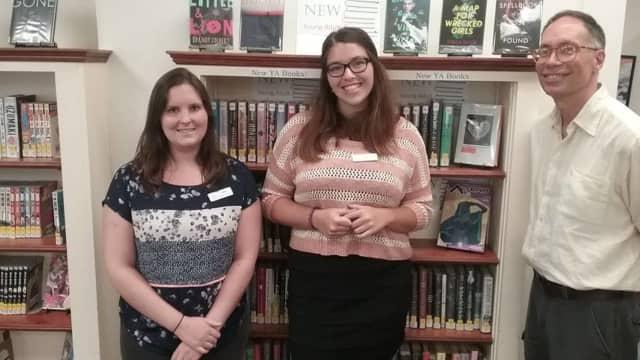 The Pawling Library program coordinators Neena Mcbaer, Kate Lambert, and Donald Partelow.