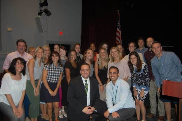 The new teachers at the Hastings School District.