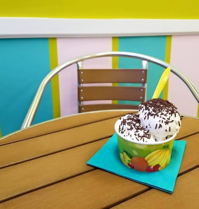 Tropical Scoops is located on River Road in Fair Lawn.