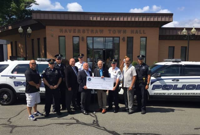 Haverstraw Police received a $25,000 grant to upgrade equipment.
