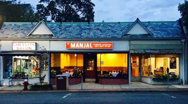 Manjal is located on Godwin Avenue in Ridgewood.
