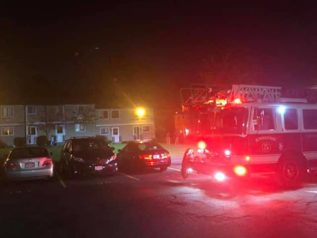 A Holyoke family of three was displaced following a fire at their home.