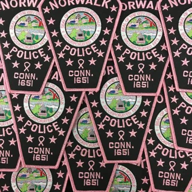 You can get your own Pink Patch from the Norwalk Police Department.