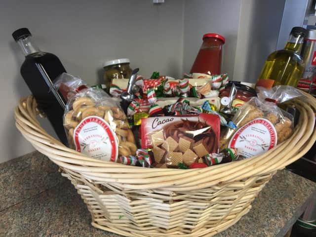 Custom baskets are a specialty at Bronx Buns, Bread & More in Danbury.