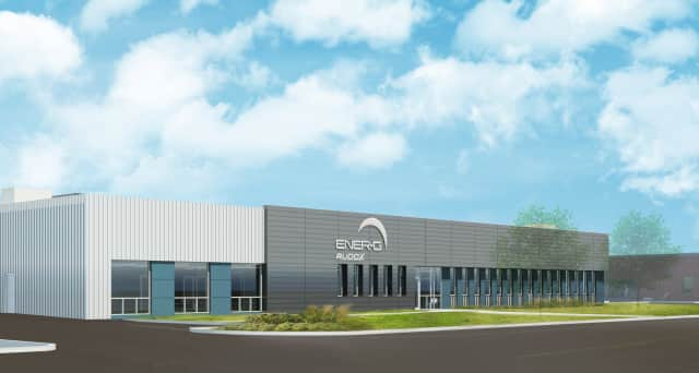 A rendering of the new ENER-G Rudox plant in East Rutherford.