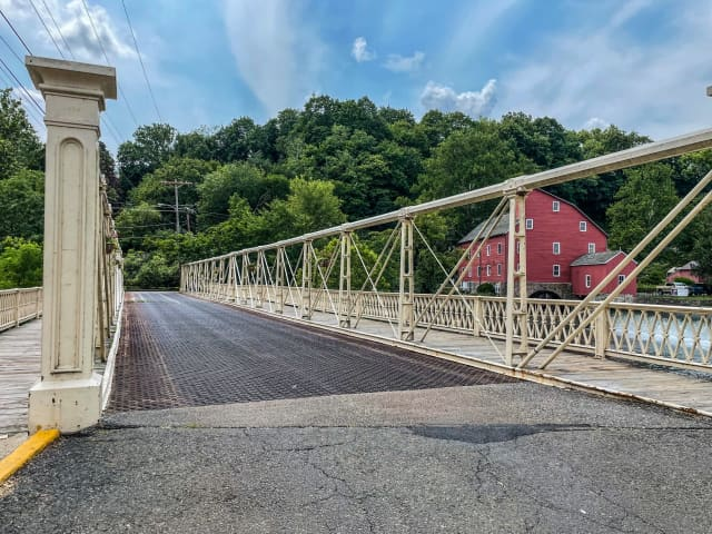 The Main Street bridge in Clinton has reopened ahead of schedule after a piece fell into the Raritan River and caused a shutdown for repairs.