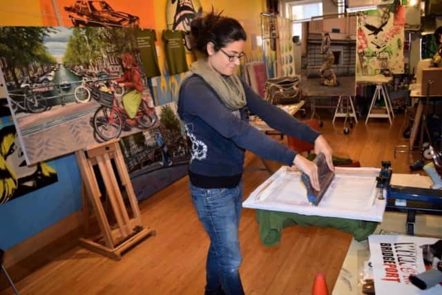 Artists across Bridgeport will open their studios for the 2017 Bridgeport Art Trail.
