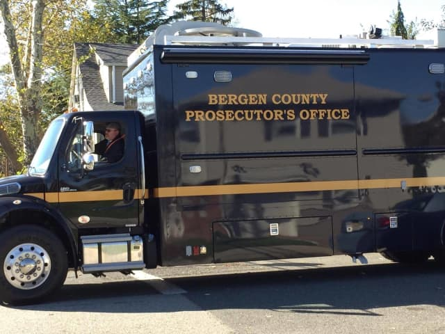 The Bergen County Prosecutor's Office Major Crimes Unit was at the scene, along with city police and detectives and the Bergen County Sheriff's Bureau of Criminal Identification, which collected evidence.