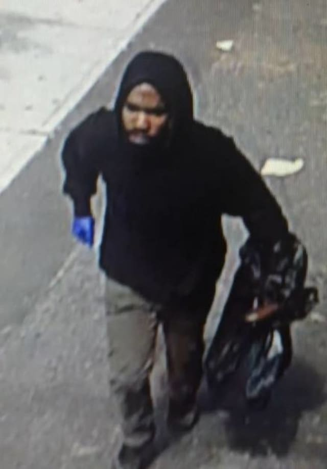 Bridgeport police released this photo of the suspect who held up Nikita's Bar on Iranistan Avenue at gunpoint.