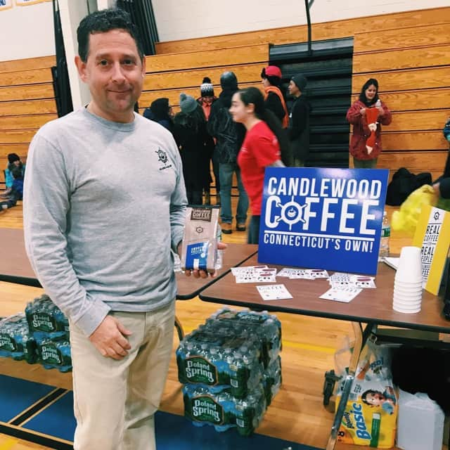Tony Inzero of Brookfield is the man behind the new Candlewood Market and Tea Emporium in Fairfield.