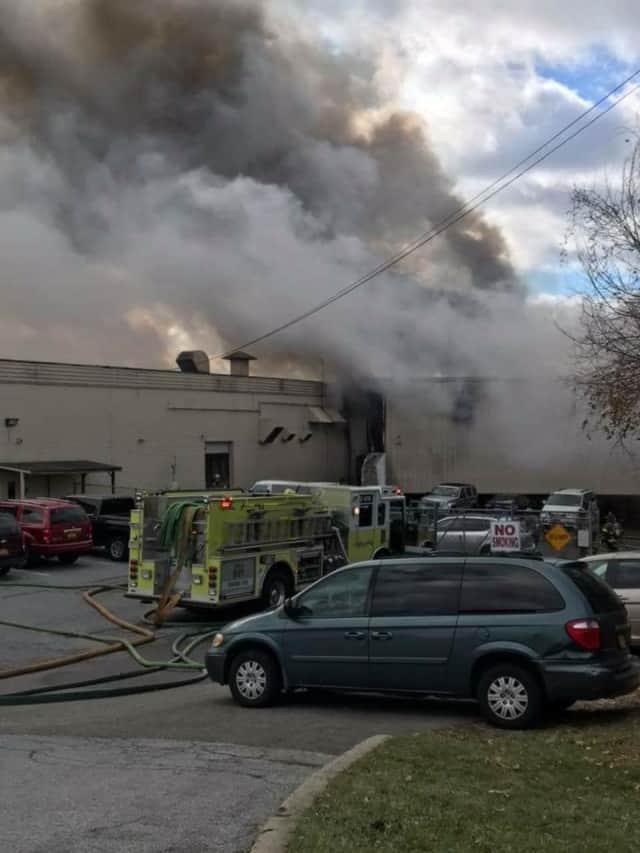 An explosion at a cosmetics plant in New Windsor killed one person and injured 30.