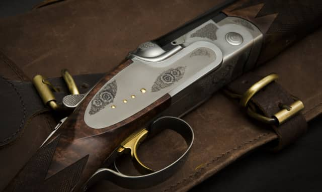 Alan Clair, manager of the Connecticut Shotgun Manufacturers store in Greenwich, will hold a talk about the art of shotguns on Wednesday, Feb. 3.