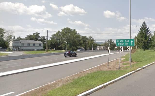 Route 23 near Black Oak Ridge Road