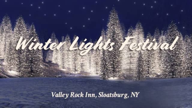 Residents can help those in need while enjoying the annual Winter Lights Festival in Sloatsburg.