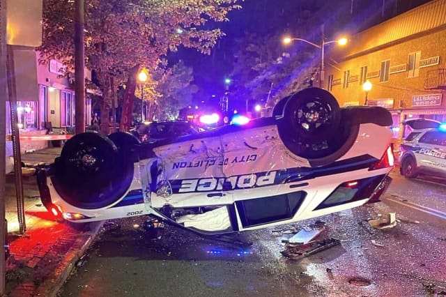 Crash at Main and Clifton avenues.