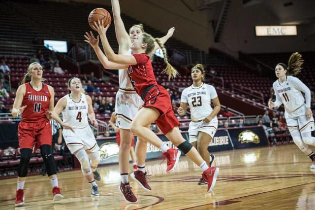 You can still make the free 11 a.m. Fairfield Stags game against Monmouth today.