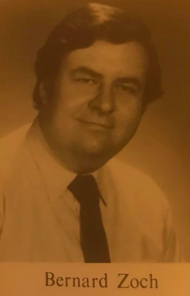 Retired Hackensack High School teacher Bernard Zoch died Dec. 7.
